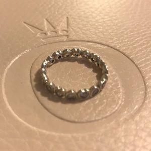 Pandora Silver Heart Ring Size 54 (US Size 7)